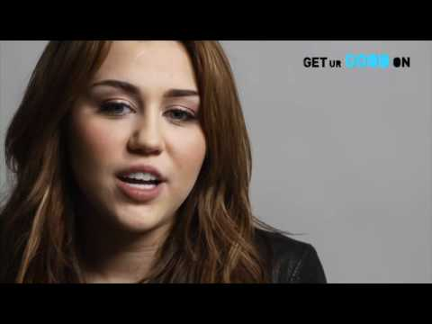 Miley Talks About Get Ur Good On