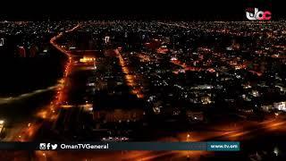 مشاهد من مدينة المعبيلة بولاية #السيب بعد سريان فترة #منع_الحركة