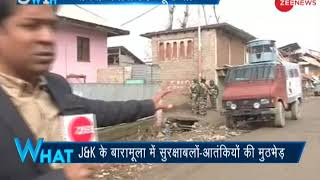 5W1H: Encounter breaks out between security forces and terrorists  in J&K's Baramulla - ZEENEWS