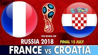 World Cup Final 2018 : France vs Croatia | इतिहास रचने को आमने-सामने होंगे फ्रांस और क्रोएशिया - ZEENEWS