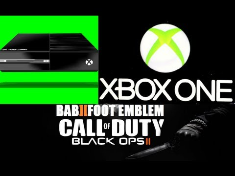Black Ops II Emblem Tuto -  X BOX ONE revealed