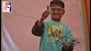بالفيديو والصور: شاب أردني يقدم ورشة تدريبية في كيفية تصنيع سيارات الأسلاك