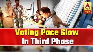 Elections 2019 Phase 3: 37.94% voter turnout till 1pm - ABPNEWSTV