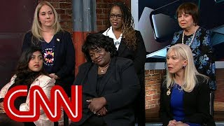 Female voters debate Trump harassment allegations - CNN