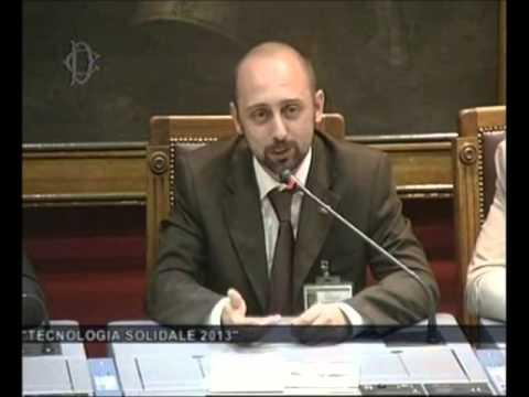 Tecnologia Solidale 2013 - Intervento di Roberto Scano