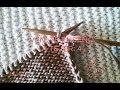 Curso Express para aprender a tejer. 4ª clase: Punto del Revés