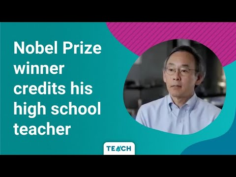 Secretary of Energy Steven Chu teaching PSA