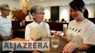 Innovative Japanese projects help seniors with dementia - ALJAZEERAENGLISH