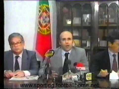 Sousa Cintra comunica a sua recandidatura nas eleições em Junho de 1991