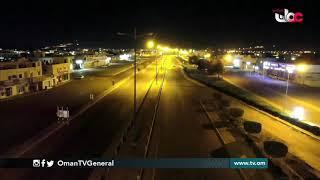 مشاهد من ولاية #عبري بعد سريان قرار الإغلاق الليلي