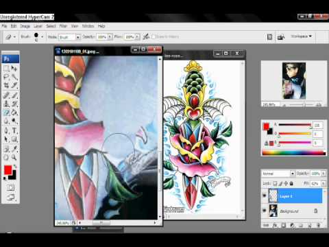 How to get tattoo on photoshop (color)