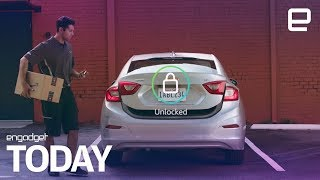 Amazon now delivers packages to the inside of your car | Engadget Today - ENGADGET