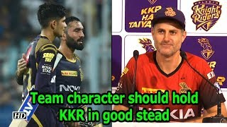IPL 2018 | Eliminator | Team character should hold KKR in good stead, says Katich - IANSINDIA