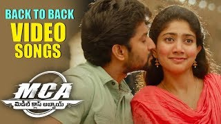 MCA Full Video Songs Back To Back - Nani, Sai Pallavi | Devi Sri Prasad - DILRAJU