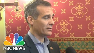 Garcetti Weighs In On The Democratic Party And President Trump's Targeting Of California | NBC News - NBCNEWS