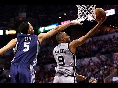 Tony Parker Slices Up the Grizzlies in Game 1