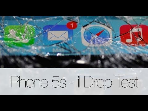 Crash Test iPhone 5s - Quanto è resistente alle cadute?