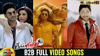 Race Gurram B2B Full Video Songs 4K | Allu Arjun | Shruti Haasan |  Thaman S | Mango Music - MANGOMUSIC
