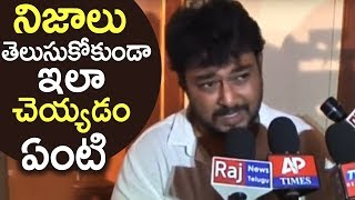 Actor Tanish Reacts On Drug Scandal | Fires On Media | TFPC - TFPC