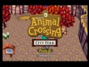 Animal Crossing City Folk Title Screen