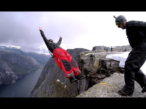 Gray Days In Norway - BASE/Wingsuit/Tracking
