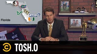 Tosh Hosts the Ultimate College Sports Talk Show - Tosh.0 - COMEDYCENTRAL