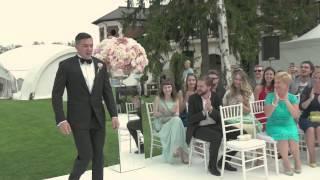 Самая красивая выездная регистрация брака от свадебного агентства Ксении Афанасьевой