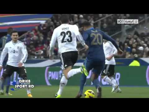 Karim Benzema vs Mesut Ozill  skills  Germany friendly match 2014