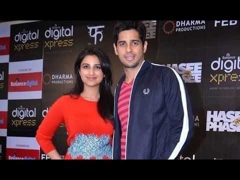 Parineeti And Sidharth Launch A Mobile App