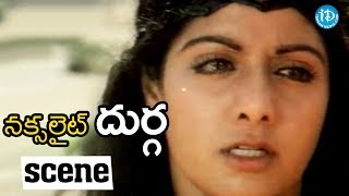 Naxalite Durga Movie Scenes - Raju Asks Gurga To Come With Him || Sridevi - IDREAMMOVIES