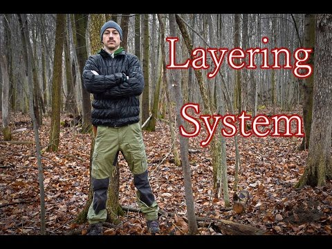 Cool Weather Clothes for Bushcraft, Camping, Outdoor Pursuits.