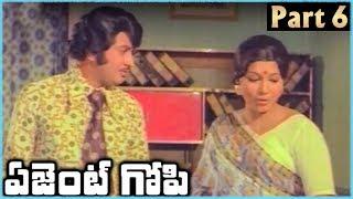 Super Star Krishna Superhit Telugu Movie AGENT GOPI | Part 6 | Krishna Jayapradha - RAJSHRITELUGU