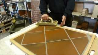 Мастер-класс по затирке швов напольной плитки, Германия