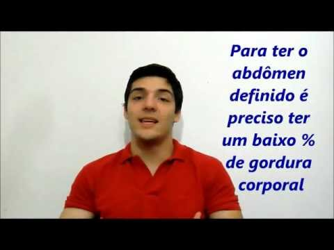 Como treinar para ter abdomen definido - Personal Trainer Ricardo Wesley - Dúvida do Leitor 02