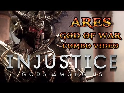 Ares Combos | Injustice: Gods Among Us | 2muchgaming.com