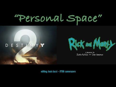 """""""PERSONAL SPACE"""" - DESTINY2 SELFIE RE-EDIT"""