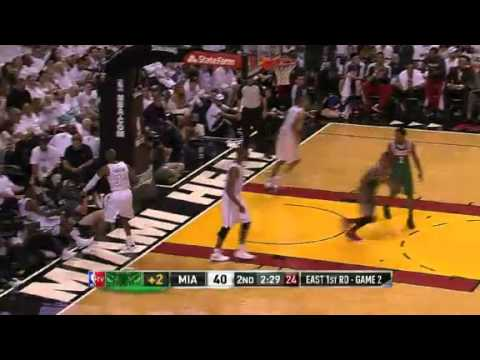 NBA Playoffs 2013: NBA Milwaukee Bucks Vs Miami Heat Highlights April 23, 2013 Game 2