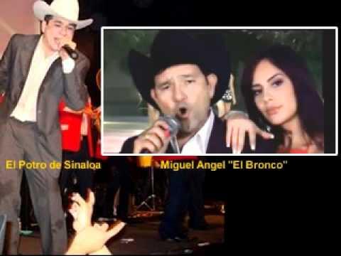 Corridos 2011 lo mas nuevo - El Potro De Sinaloa y Miguel Angel El Bronco - Se Juntaron Dos Amigos