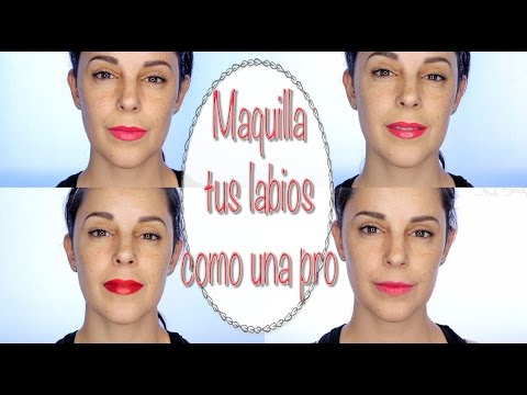 Tutorial Maquilla tus labios como una pro l Silvia Quiros