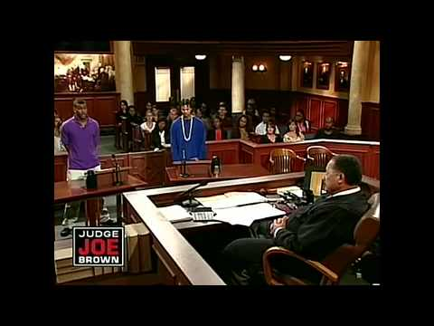 Thug Gets Bold With Judge Joe Brown