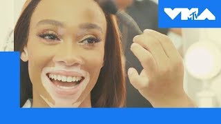 Winnie Harlow Rates Iconic VMA Fashions | MTV - MTV