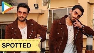 SPOTTED: Ranveer Singh & Sara Ali Khan during SIMMBA promotions - HUNGAMA