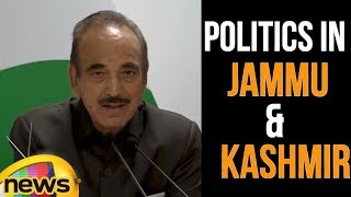 PDP-BJP Breakup : Ghulam Nabi Azad says fallout will be good for people of Kashmir |  Mango News - MANGONEWS