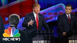 A Flashback To Fiery Campaign Attacks Between Ted Cruz And President Donald Trump | NBC News - NBCNEWS