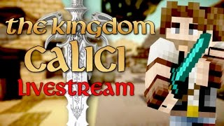 Thumbnail van CALICI VERKENNEN! - Minecraft: The Kingdom Calici (Livestream)