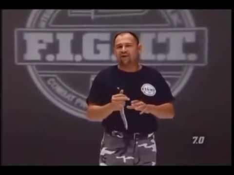 Curso de cuchillo Avanzado video 1 de 2 Tácticas de cuchillo avanzadas agarre hacia atrás