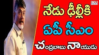 AP CM Chandrababu Naidu To Meet Chief Election Commissioner Over EVM Issue In Delhi | CVR NEWS - CVRNEWSOFFICIAL