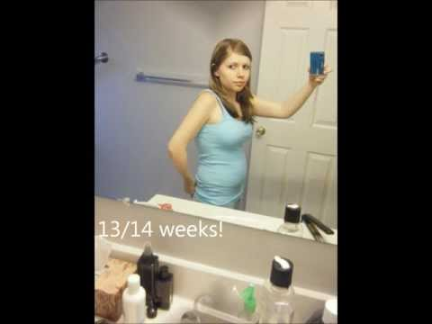 14+weeks+pregnant+belly+second+pregnancy