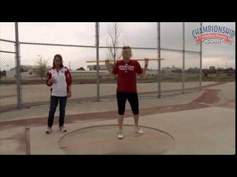Learn to Throw the Discus with Correct Posture and Alignment! - Track 2015 #16