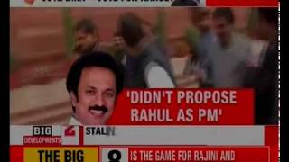 DMK Stalin forms 6-Member Committee for Alliance Talks;  Committee to be headed by Durai Murugan - NEWSXLIVE